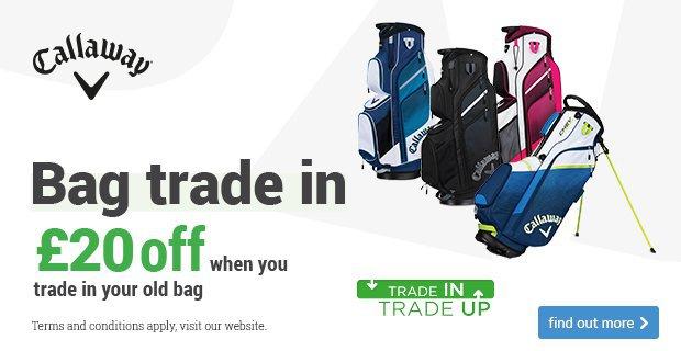 Get £20 off a new Callaway bag